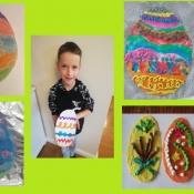 Wielkanocne życzenia od pierwszaków (31.03.2021)