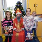 Święty Mikołaj w II A 2015 r.
