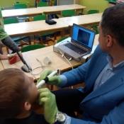 Wizyta stomatologa w klasie 1b (9.05.2017)