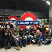 Wycieczka klas 7 do Londynu (3-5.02.2019)