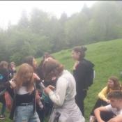 Wycieczka klas 7 w Pieniny (29 - 31. 05.2019)