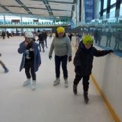 Wyjście klas 5b i 5c na lodowisko (19.01.2018)
