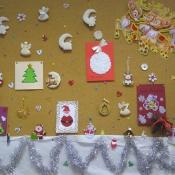 Wyniki konkursu na dekorację świąteczną sali lekcyjnej