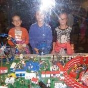 Wystawa Lego oblężona przez konstruktorów z II C - 2015r.