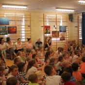 Wystawa malarstwa uczniów Chrobrego - 04.06.2019 r.