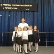 X Międzyszkolny Festiwal Piosenki Żołnierskiej i Patriotycznej (15.11.2018)
