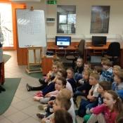 Zajęcia biblioteczne w klasach 2b i 2c (21.04.2016)