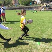 Zajęcia pokazowe i miniturniej Rugby - Tag - klasy V - 18.04.2018 r._11