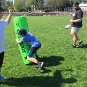 Zajęcia pokazowe i miniturniej Rugby - Tag - klasy V - 18.04.2018 r._17