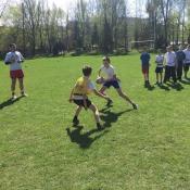 Zajęcia pokazowe i miniturniej Rugby - Tag - klasy V - 18.04.2018 r._27