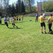 Zajęcia pokazowe i miniturniej Rugby - Tag - klasy V - 18.04.2018 r._36