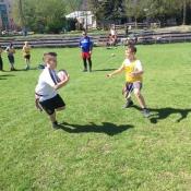 Zajęcia pokazowe i miniturniej Rugby - Tag - klasy V - 18.04.2018 r._39