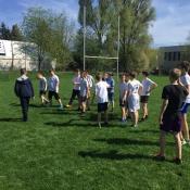 Zajęcia pokazowe i miniturniej Rugby - Tag - klasy V - 18.04.2018 r._3