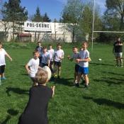 Zajęcia pokazowe i miniturniej Rugby - Tag - klasy V - 18.04.2018 r._4