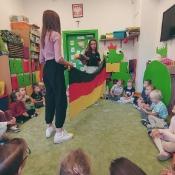 Zajęcia z języka niemieckiego w przedszkolu Król Maciuś I (23-27.09.2019)