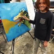 Zapraszamy na wystawę malarstwa uczniów (30.05.2019)