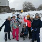 Zimowy festiwal budowli i rzeźb ze śniegu (6.02.2021)