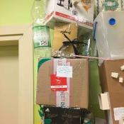 Dziwolągi z odpadów - prace uczniów klas: IV i V - zajęcia techniczne 2018 r._13