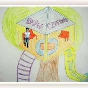 Miejsce przyjazne czytaniu - projekty uczniów klasy VA - maj 2015r.