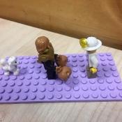 Przypowieść o Synu Marnotrawnym klockami Lego malowana_3