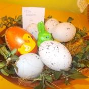 Wielkanoce stroiki wykonane przez uczniów klas 4 (22.03.2016)