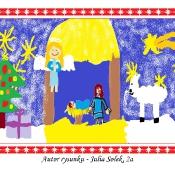 Świąteczne malowanie na ekranie (22.12.2015)