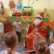 Dzień z Mikołajem w klasach zerowych