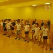 Zabawy sportowe w klasach zerowych