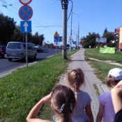 Zerowiak to wzorowy pieszy