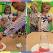 Żabki eksperymentują z tatą Oli_8