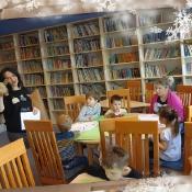 Biedronki na lekcji bibliotecznej_6