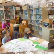 Biedronki na lekcji bibliotecznej_8