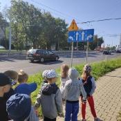 Biedronki poznają zasady ruchu drogowego