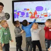 Biedronki w Szkole Językowej Helen Doron_12