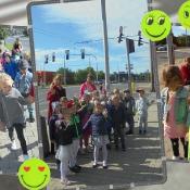 Dzień Znaczków Odblaskowych czyli jak przedszkolaki świecą przykładem!