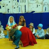 Jasełkowe świętowanie Dnia Babci i Dziadka u Króla Maciusia_41