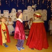 Jasełkowe świętowanie Dnia Babci i Dziadka u Króla Maciusia_58