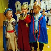Jasełkowe świętowanie Dnia Babci i Dziadka u Króla Maciusia