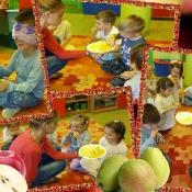 Jesienne przysmaki z sadu u Biedronek
