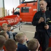 Maciusiowe przedszkolaki w Straży Pożarnej_43