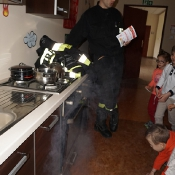 Maciusiowe przedszkolaki w Straży Pożarnej_56