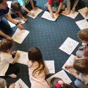 Motylki i Biedronki w podróży dookoła świata w Szkole Językowej Helen Doron_30