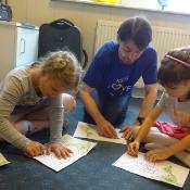 Motylki i Biedronki w podróży dookoła świata w Szkole Językowej Helen Doron_8