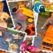 Nasze dzielne 2-latki :) - ... PAŹDZIERNIKOWE FIGLE I PSOTY..._7