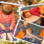Nasze dzielne 2-latki :) - ... PAŹDZIERNIKOWE FIGLE I PSOTY..._8