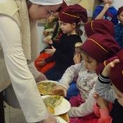 Przedszkolaki na tropie receptury lubelskich cebularzy