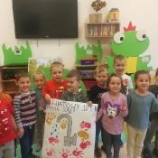 Przedszkolaki przypominają: 16 października to Światowy Dzień Mycia Rąk_1