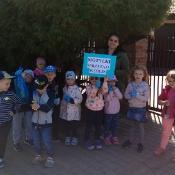 Przedszkolaki sprzątają Węglin_22