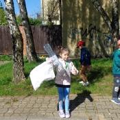 Przedszkolaki sprzątają Węglin_30