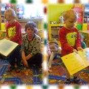 Pszczółki czytają z mamą Kubusia_4